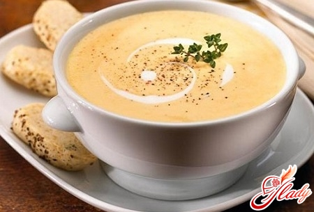 simple cheese soup