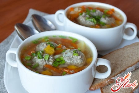 soup recipe with meatballs