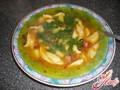 soup with dumplings recipe
