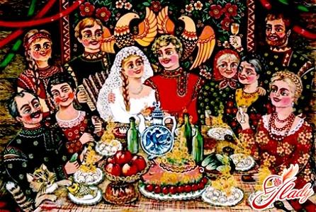 wedding ceremony in russia