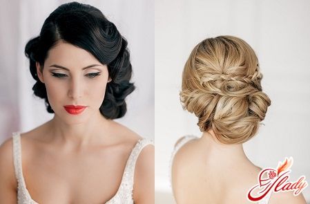 quick wedding hairstyle with your own hands