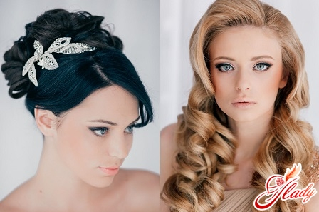 beautiful wedding hairstyle with your own hands