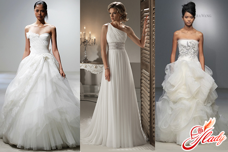 how to choose a wedding dress according to the figure