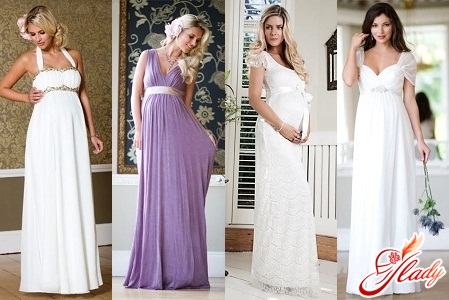 весільні сукні 2012 для вагітних