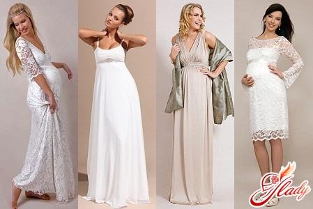 весільні сукні 2012 для вагітних фото