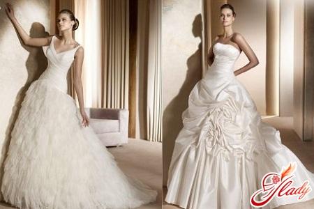 wedding dresses according to the figure