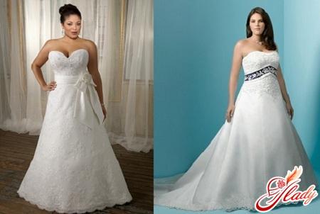 wedding dresses for full girls photo