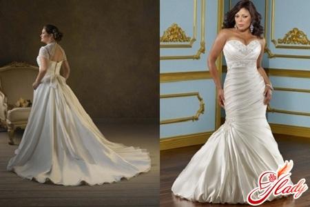 wedding dresses for full girls