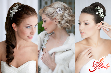 весільні зачіски з довгою фатою