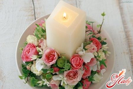 весільна свічка своїми руками