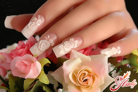 wedding manicure on your nails