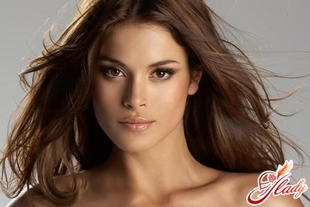 beautiful bridal makeup for brunettes