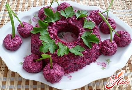 рецепт бурякового салату на зиму