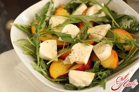 delicious cheese salad