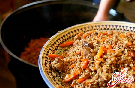 pilaf in Dushanbe