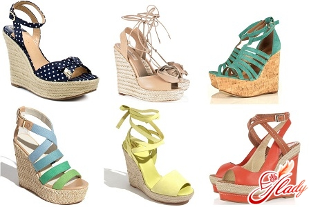 sandals on the wedge 2012