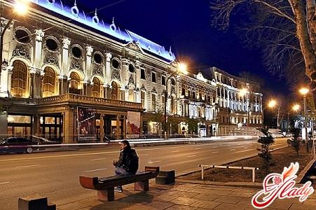 the famous Rustaveli shta