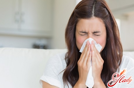 high fever for allergies