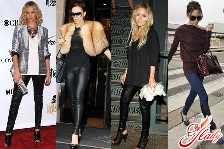 легінси жіночі з чим носити