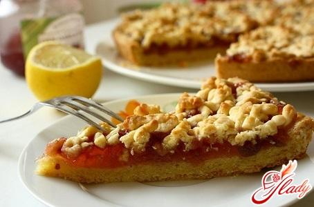 рецепт тертого пирога з яблуками