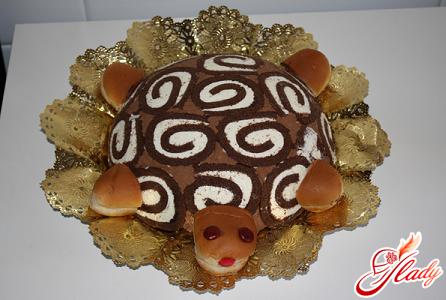 простий рецепт торта черепаха зі сметаною