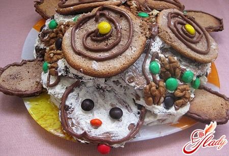 delicious tortoise cake