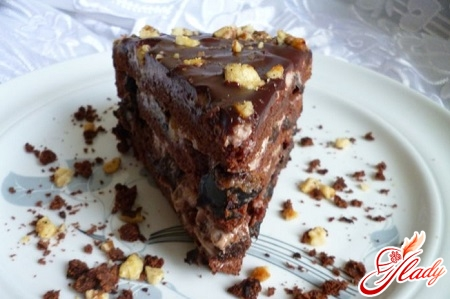 recipe for chocolate cake with prunes