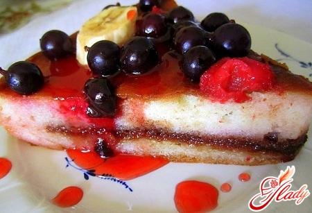 бісквітні коржі для торта рецепт