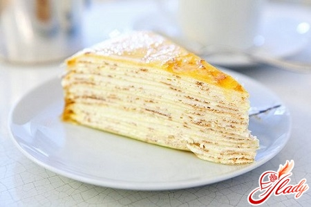 recipe for cake from pancakes