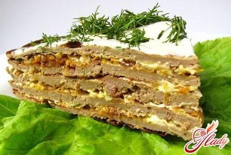 cake of beef liver