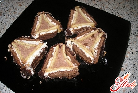biscuit cake with condensed milk