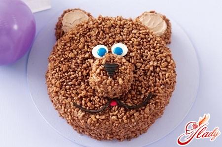 торт ведмедик олімпійський