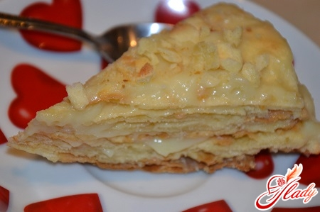 cottage cheese cake Napoleon