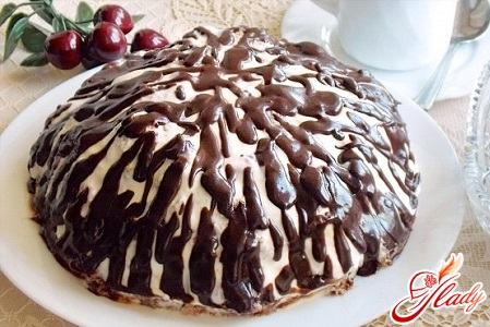 cake pancho recipe with cherry