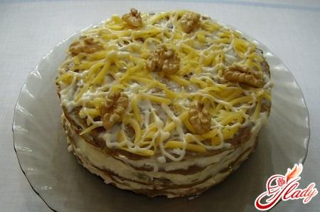hepatic chicken liver cake