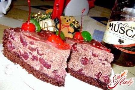 cake drunk cherry