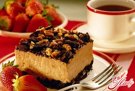 cakes with nuts