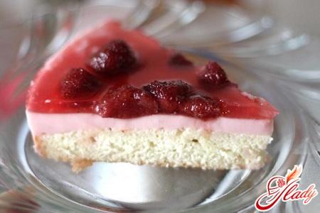 торт фруктовий з желе
