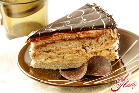 sour cream cake with condensed milk