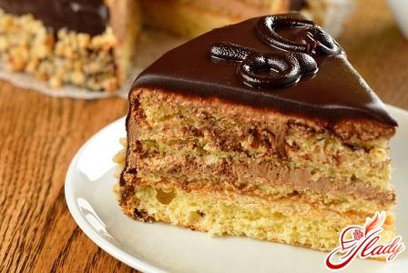 cake with sour cream and condensed milk