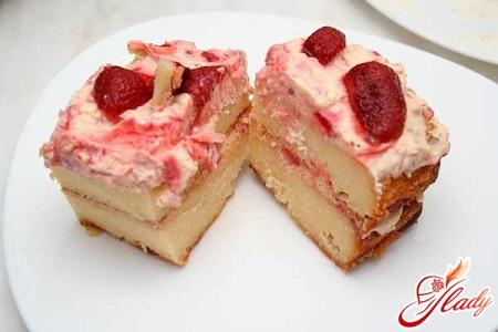 cottage cheese fruit cake