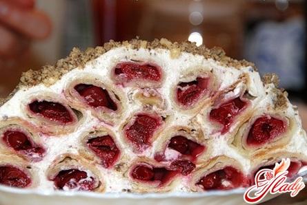 recipe cake cherry slide