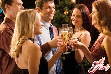 поздоровлення і тости за новорічним столом
