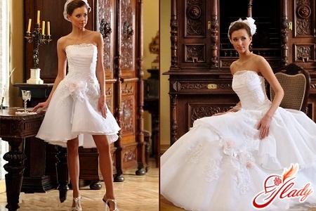 весільну сукню трансформер