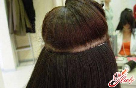 a qualitative tressovyj escalating of hair