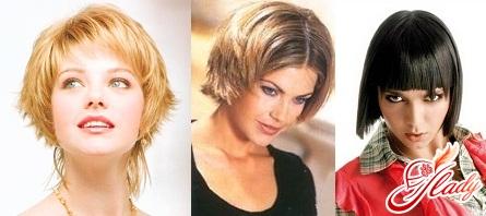 modern fashion haircuts on short hair photo