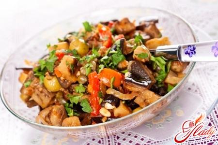 Eggplant stewed
