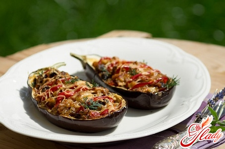 stewed aubergines with meat
