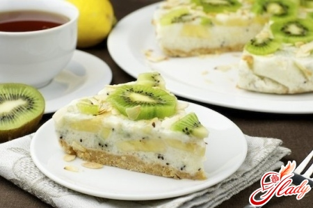 curd yoghurt cake