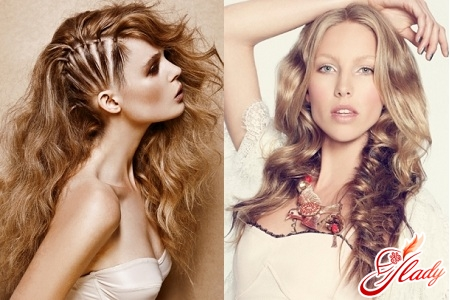 styling of long hair at home